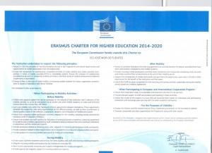 Carta Erasmus Web